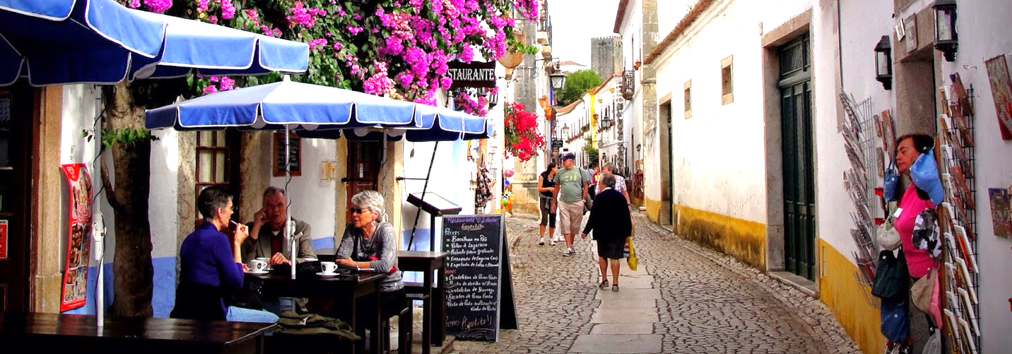 THE BEAUTY OF ÓBIDOS